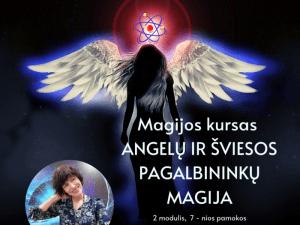Visas Angelų ir šviesos pagalbininkų Magijos kursas