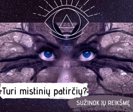 mistines patirtys